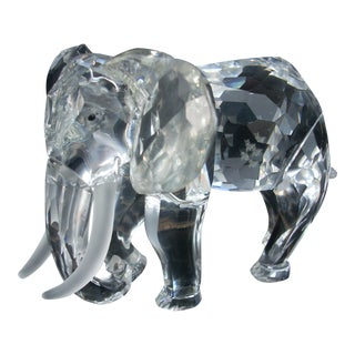Swarovski Clear Crystal Elephant