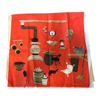 Vintage Belgium De Antonio Tea Towel