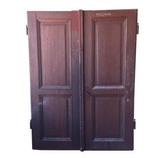 Italian Antique Cellar Doors