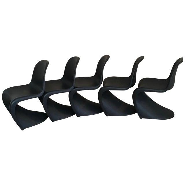 Image of Verner Panton S Chairs - Set of 5