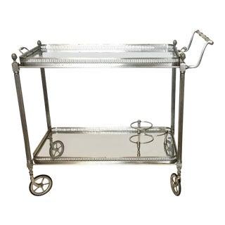 Vintage French Maison Jansen Bar Cart