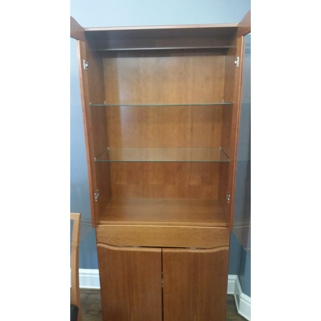 Skovby #352 Display Cabinet in Cherry Wood - Image 5 of 5