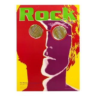 Metropolitan Museum of Art Richard Avedon Rock Style 2000 Exhibition Poster