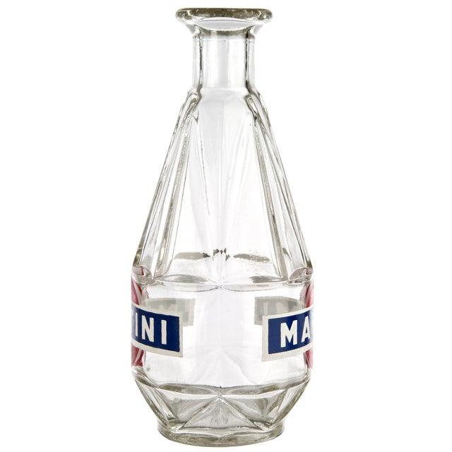 Vintage French Martini Glass Bottle - Image 2 of 2