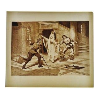 """Art I Puritani"" Bellini Opera Henry T Carris Photogravure"
