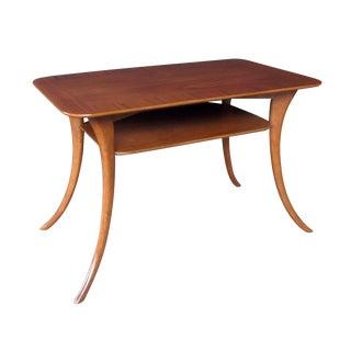 A Stylish American Rectangular Walnut Side Table; Widdicomb