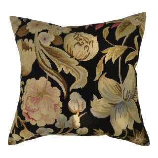French Needlepoint Aubusson Pillow