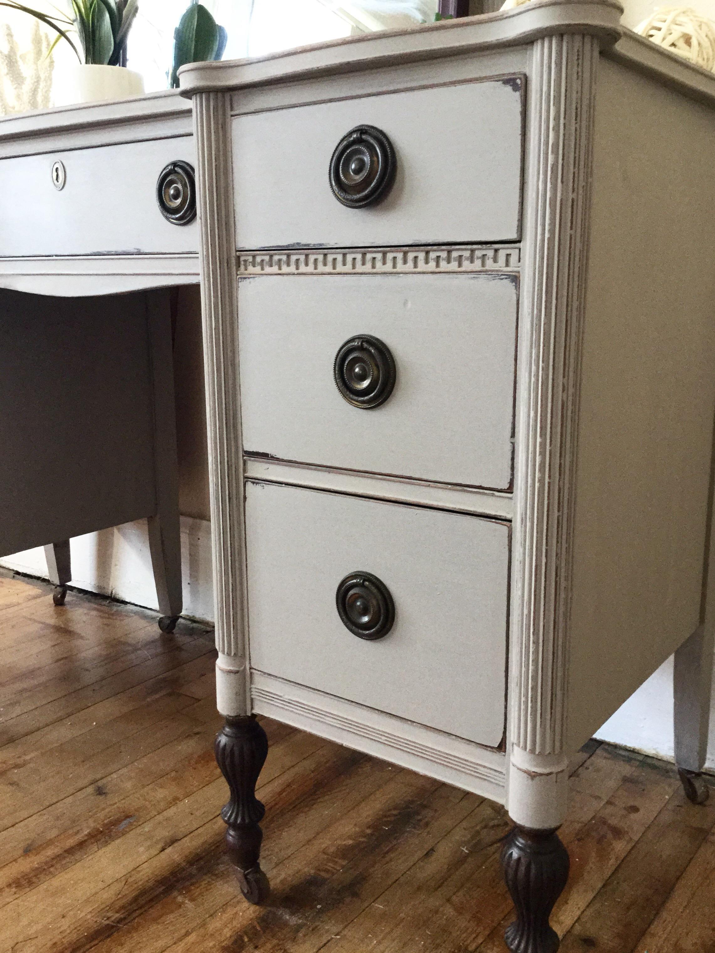1940u0027s Thomasville Furniture Company Vanity   Image 8 Of 11