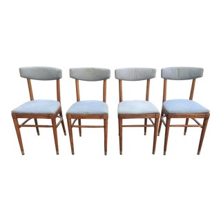 Vintage Thonet Dining Chairs - Set of 4
