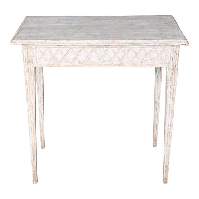 19th Century Swedish Painted Table - Image 1 of 8