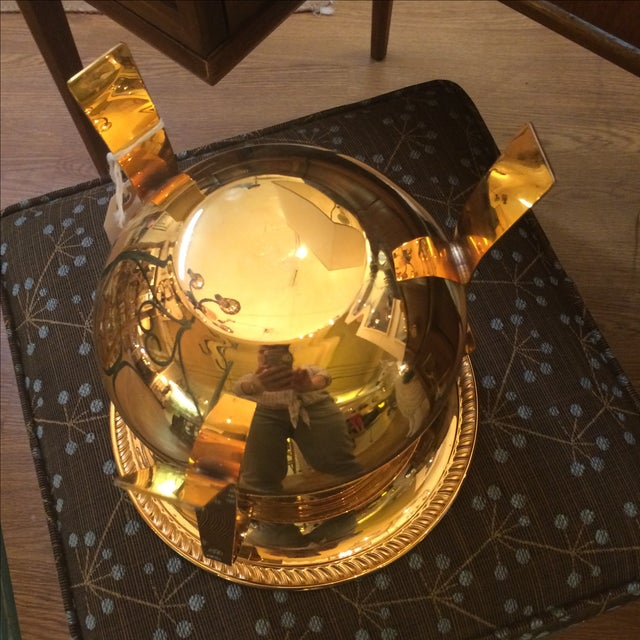 14k Gold Electro Plated Champagne Bucket - Image 7 of 7