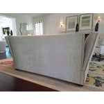 Image of George Smith Light Silver Grey Sofa