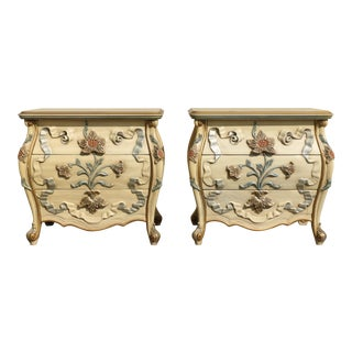 American French Style Chests of Drawers - a Pair