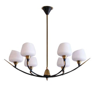Arlus Six-Arm Chandelier