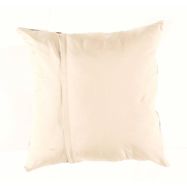 Vintage Red Kilim Pillow - Image 3 of 3