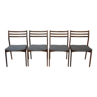 Vestervig Eriksen for Brdr Tromborg Rosewood Dining Chairs - Set of 4