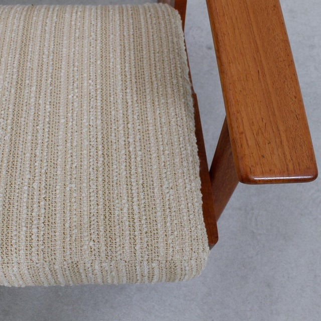 Hans Wegner For Getama Lounge Chair & Ottoman - Image 9 of 10