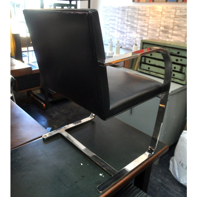 Image of BRNO Flatbar Cantilever Chair Mies van der Rohe