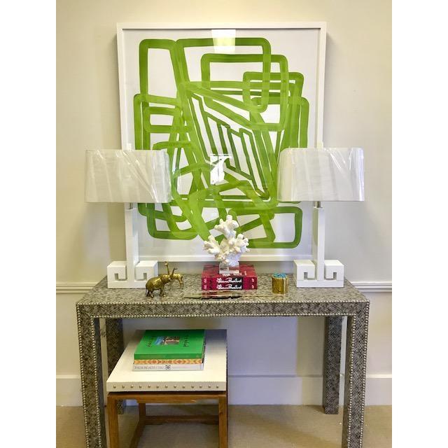 """'Lime Equation 1"""" Print, Meg Braff for Wendover Art - Image 3 of 3"""