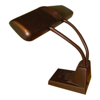 Vintage Art Deco 1960's Desk Lamp
