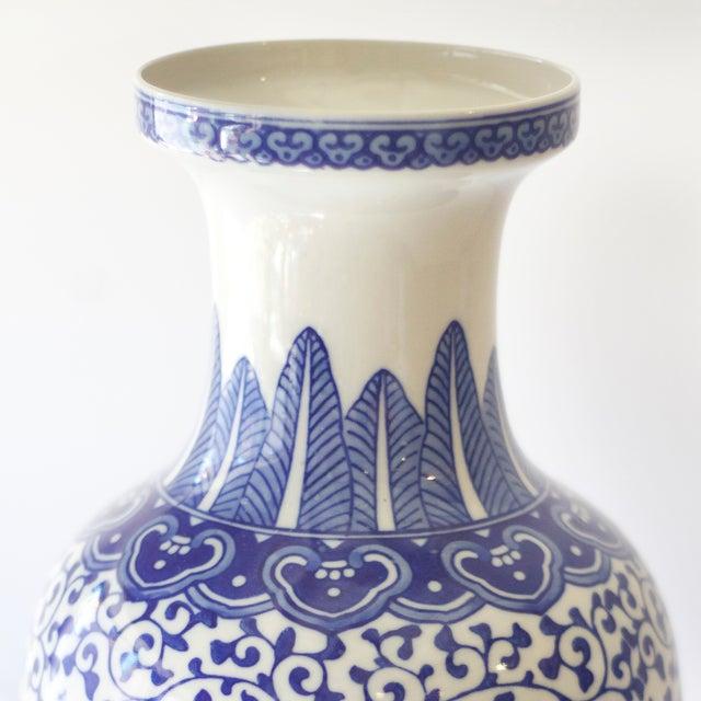 Blue & White Korean Vases - a Pair - Image 4 of 4