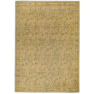 Exceptional Oversize Antique Spanish Cuenca Carpet
