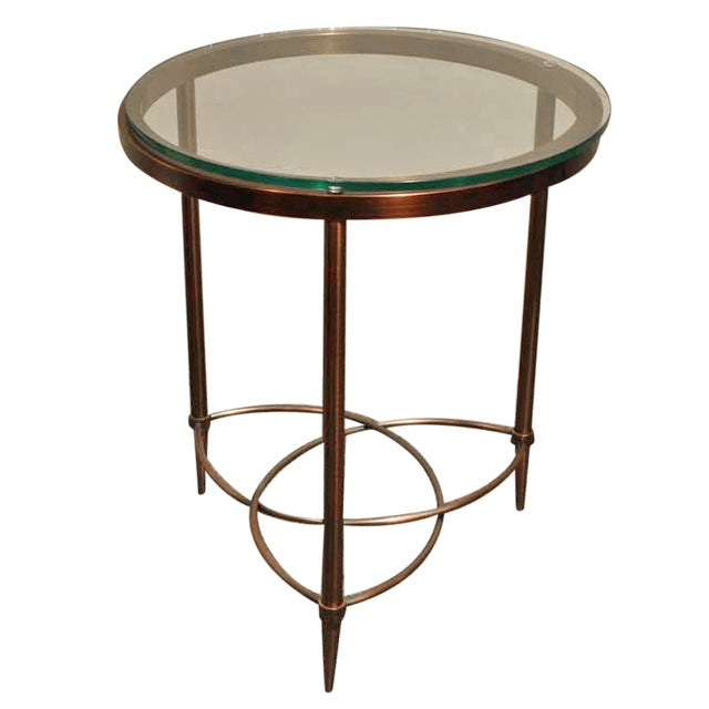 Image of DIA Round Bronze Side Table