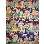 Image of Vintage India Elephant Festival Fabric - 2 Panels