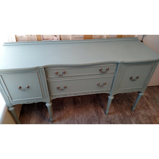 Refinished Vintage French Provincial Buffet - Image 6 of 6