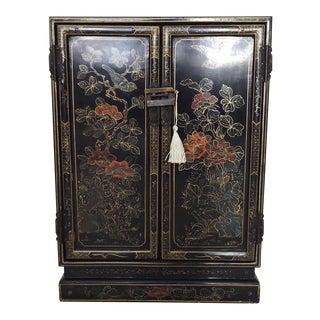 Oriental Floral Cabinet