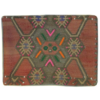 Vintage 1960s Turkish Kilim Pillow Cover