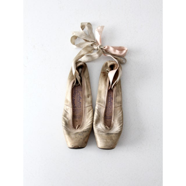 Vintage Capezio Duro Toe Ballet Slippers - A pair - Image 4 of 7