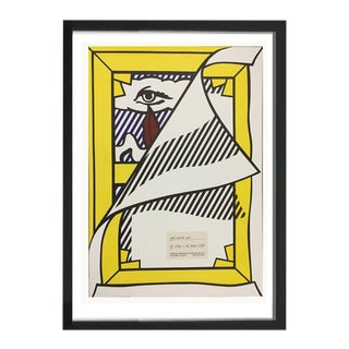 "Roy Lichtenstein ""Art About Art"" Poster, 1978"