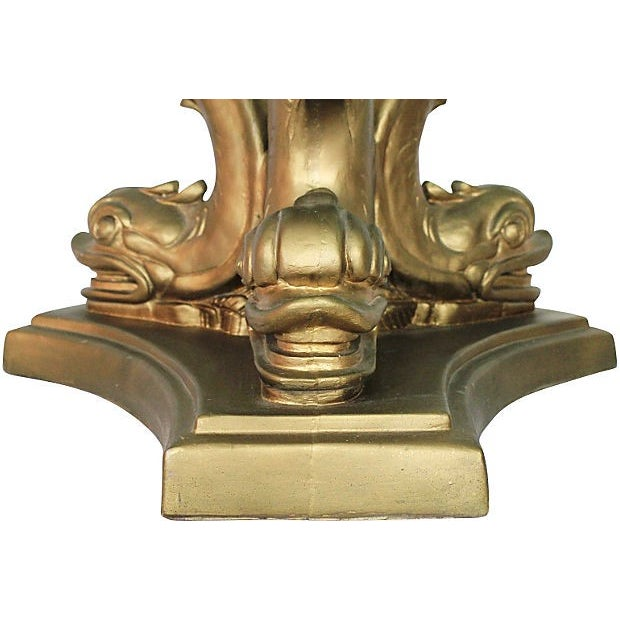 Gilt Dolphin Coffee Table - Image 2 of 5