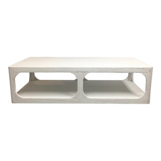 Dovetail White Shabby Chic Coffee Table