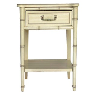 Faux-Bamboo Nightstand by Henry Link
