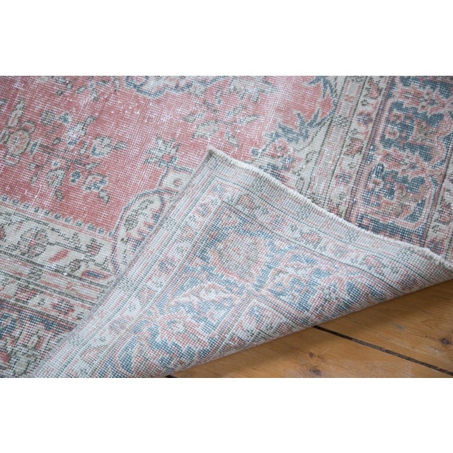 "Image of Distressed Oushak Rug - 4'4"" X 6'5"""