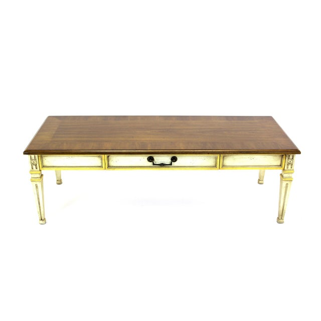Mid-Century Walnut Heritage Coffee Table - Image 7 of 8