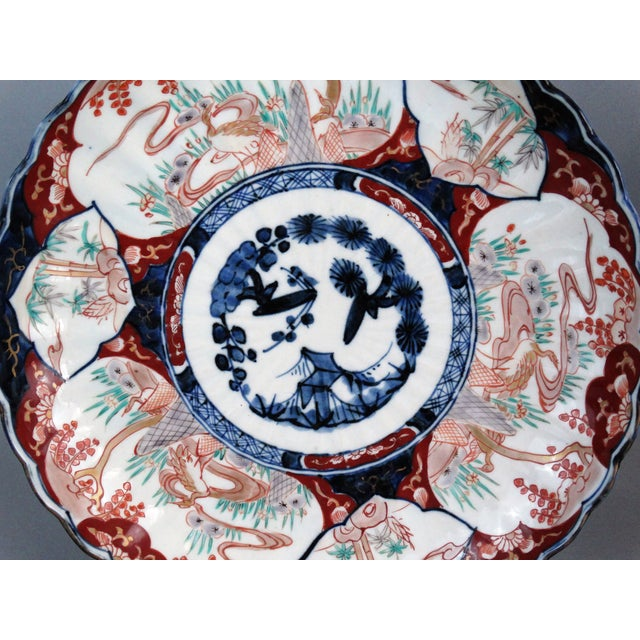 Japanese Porcelain Imari Chargers - A Pair - Image 5 of 9