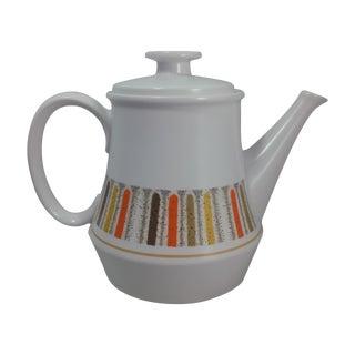 Mid-Century Mardi Gras Teapot