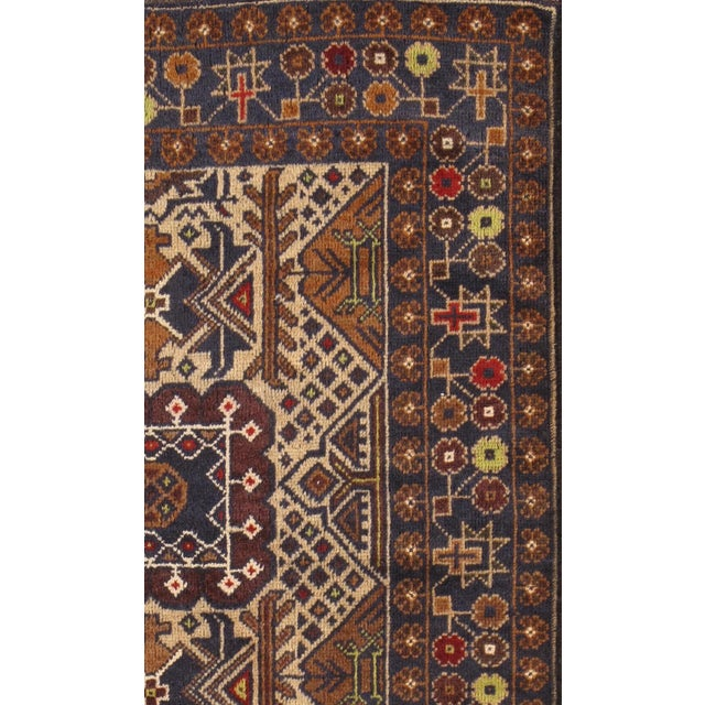 """Pasargad Balouch Collection Rug - 2'10"""" X 4'9"""" - Image 2 of 2"""