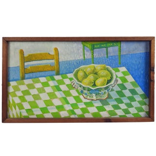 Bright Lemons Painting