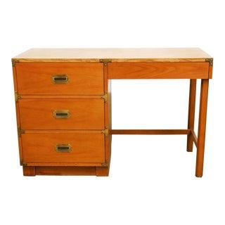 Vintage Drexel Heritage Campaign Desk
