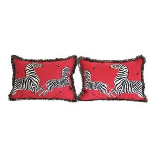 Scalamandré Zebras Fabric Pillows - Pair