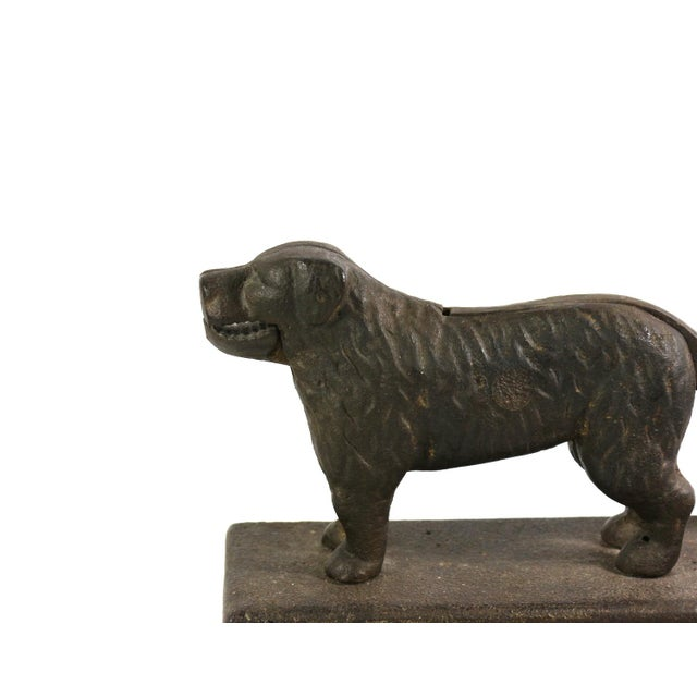 Image of 1890s St Bernard Dog Nut Cracker