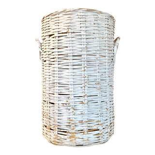Nautical Hamptons Linens Basket