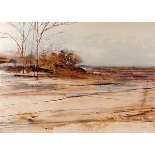Modernist Landscape Lithograph