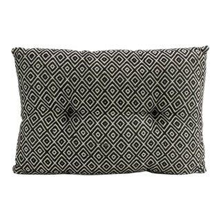 Ebony Diamond Handloom Pillow