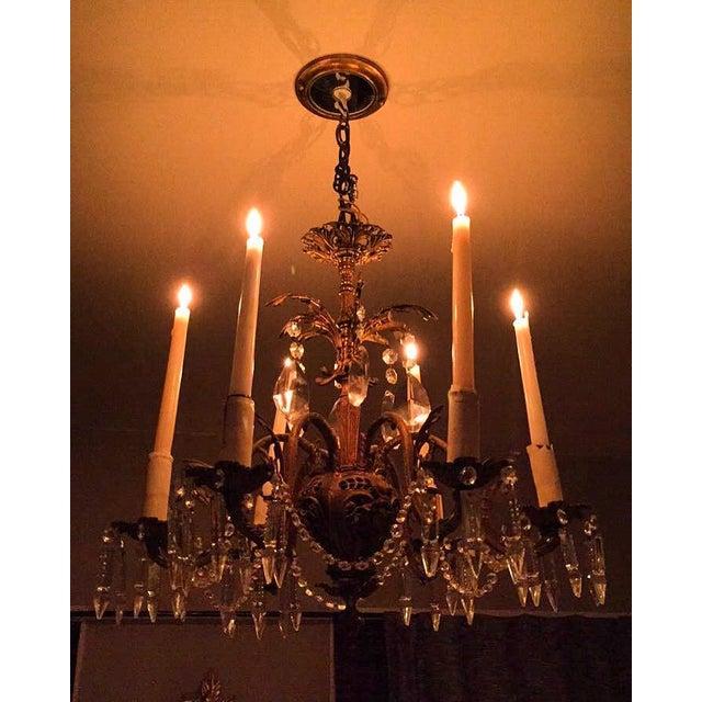 Rococo Revival Chandelier - Image 6 of 6