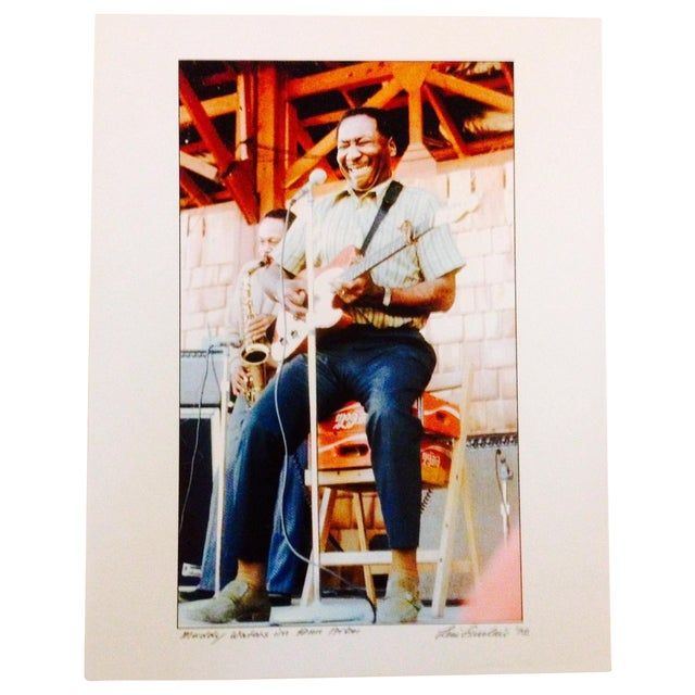 Original Muddy Waters Signed Photograph - Image 1 of 3